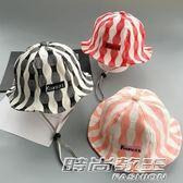 韓版嬰兒帽子寶寶漁夫帽小女孩盆帽男童防曬帽兒童遮陽帽        時尚教主