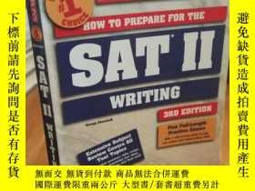 二手書博民逛書店How罕見to Prepare for the SAT II W
