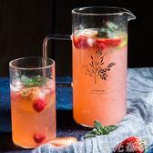 冷水壺 冷水壺玻璃耐熱家用夏天耐高溫防爆涼白開水 綠光森林