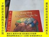 二手書博民逛書店The罕見Large Family :A Quiet Night In[英文繪本]Y246305 見圖 見圖