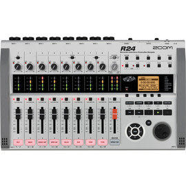 凱傑樂器 ZOOM R24 使用SD卡 支援最大32G 錄音座 錄音介面 錄音卡 公司貨