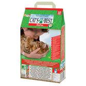CATS BEST 德國凱優 低粉塵細顆粒 凝結木屑砂 紅標10L X 1入