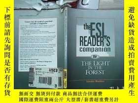 二手書博民逛書店The罕見ESL Reader s Companion to The Light in the Forest ES