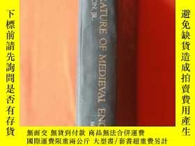 二手書博民逛書店The罕見Literature of Medieval Engl