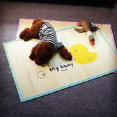 狗涼席狗狗冰墊 寵物冰墊  墊子狗窩 泰迪墊子耐咬墊子 夏季涼席