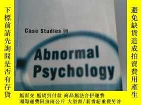 二手書博民逛書店case罕見studies in abnormal psychologyY218789 otmanns wil