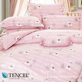 天絲床包兩用被四件式 加大6x6.2尺 童話 100%頂級天絲 萊賽爾 附正天絲吊牌 BEST寢飾