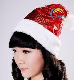 錢聖誕帽絨毛邊2個價