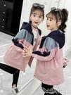 女童外套 女童外套兒童洋氣秋裝大童裝冬裝...