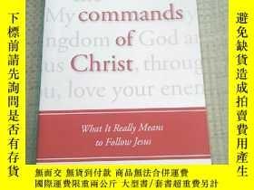 二手書博民逛書店the罕見commands of Christ(平裝庫存)Y63