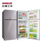 【SANLUX 台灣三洋】480L 雙門變頻冰箱《SR-C480BVG》R水晶粉 全新原廠保固