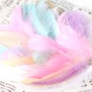 【BlueCat】兒童手作DIY 彩色 羽毛 材料 (50入)