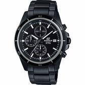 CASIO卡西歐 EDIFICE 經典賽車計時手錶-黑 EFR-526BK-1A1VUDF / EFR-526BK-1A1V