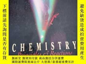 二手書博民逛書店CHEMlSTRY罕見Rrⅰnciples and Reactⅰons化學原理與反應 【精裝】Y16696 外