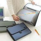 文件夾風琴包A4手提多層文件袋 收納辦公用品整理 【店長推薦】  快速出貨