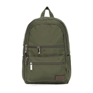 【南紡購物中心】J II 後背包-極限水洗雙拉鍊後背包-橄欖綠-6566-15