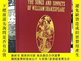 二手書博民逛書店The罕見Songs and Sonnets of Willia