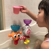 兒童洗澡玩具寶寶浴室戲水玩具轉轉樂水車【聚寶屋】