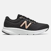 New Balance 女款黑色輕量運動慢跑鞋 W411LB2