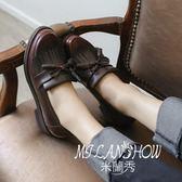 英倫風牛津鞋圓頭復古 米蘭shoe