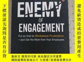 二手書博民逛書店The罕見Enemy of Engagement Mark Royal and Tom Agnew 英語原版精裝奇