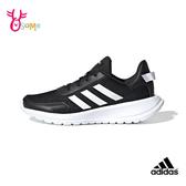 adidas童鞋 男女童慢跑鞋 大童 運動鞋 耐磨 透氣 童跑步鞋 女鞋可穿 TENSOR S9336#黑白◆奧森鞋業