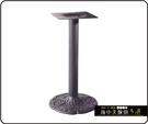 {{ 海中天休閒傢俱廣場 }} C-99 摩登時尚 餐桌腳系列 483-10 鑄鐵餐桌腳/烤黑腳