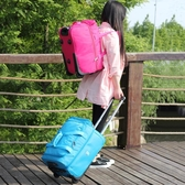 子坊行李箱牛津布輕便拉桿包大容量帆布旅行包學生拉桿箱女20寸  ATF  聖誕鉅惠