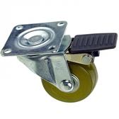 2吋耐磨型活煞透明輪四角-25KG