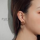 PUFII-耳環 氣質絨毛風格耳環-1205 現+預 冬【CP17713】