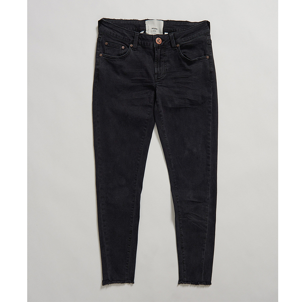 ONETEASPOON  WW  BLACK SWAN FREEBIRDS II LOW WAIST SKINNY JEAN  牛仔褲-黑(女)