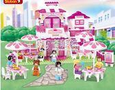 組裝女童6益智力大童拼裝積木玩具10-12歲以上14   卡菲婭