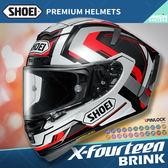 [中壢安信]日本SHOEI X-Fourteen X14 彩繪 BRINK TC-5 黑白 全罩 頂級 安全帽 X-14