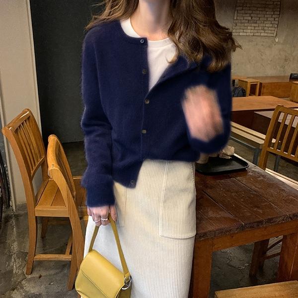 針織開衫 外搭開衫薄款外套女針織上衣女春裝春秋毛衣女寬松外穿