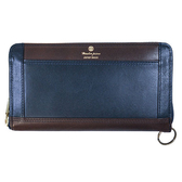 MSPC(master-piece)  FLAT No.223790 [全牛皮紳士皮夾]-深藍色
