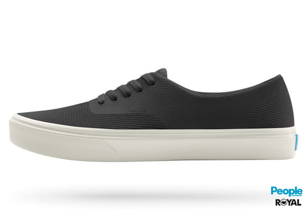 PEOPLE 新竹皇家 The Stanley 黑色 網布 輕量 休閒鞋 男款 NO.A6777
