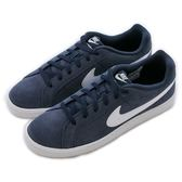 Nike 耐吉 NIKE COURT ROYALE SUEDE  經典復古鞋 819802410 男 舒適 運動 休閒 新款 流行 經典
