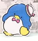 【震撼精品百貨】Tuxedo Sam Sanrio 山姆藍企鵝~貼紙-走路*46066