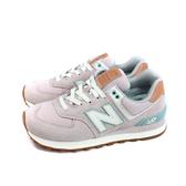 NEW BALANCE 574系列 運動鞋 復古鞋 女鞋 粉紅色 WL574BCN-B 窄楦 no825