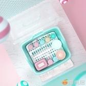 收納盒 寶寶奶瓶收納箱盒儲存乾燥瀝水架帶蓋防塵嬰兒餐具奶粉盒便攜外出 雅楓居