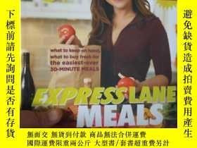 二手書博民逛書店Rachael罕見Ray Express Lane Meals