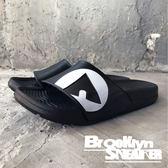 AIR WALK 黑白 橡膠  男女 情侶鞋  (布魯克林) 2018/7月 A755220-220