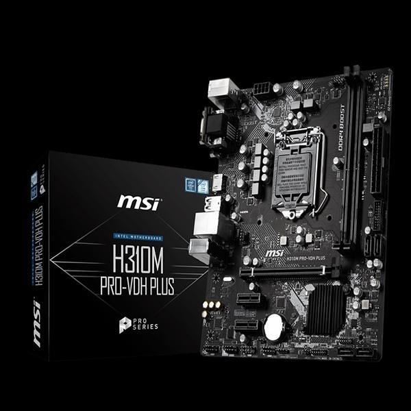 【綠蔭-免運】微星H310M PRO-VDH PLUS Intel 1151主機板