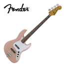 【敦煌樂器】Fender MIJ Traditional 60s Jazz Bass RW FPK 電貝斯 粉紅款