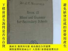 二手書博民逛書店Idiom罕見and Grammar for secondary