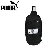 【橘子包包館】PUMA 單肩包/單肩後背包/胸包 07663701 黑色