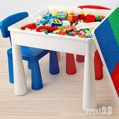 樂高積木 兒童積木桌子玩具男孩子3-6周歲7兼容樂高拼裝8女孩益智10多功能 LN4764【Sweet家居】