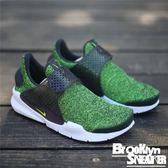 Nike Sock Dart (GS)  草綠色 網布 休閒 襪套 大童 女生  (布魯克林) 2017/9月 917951-002