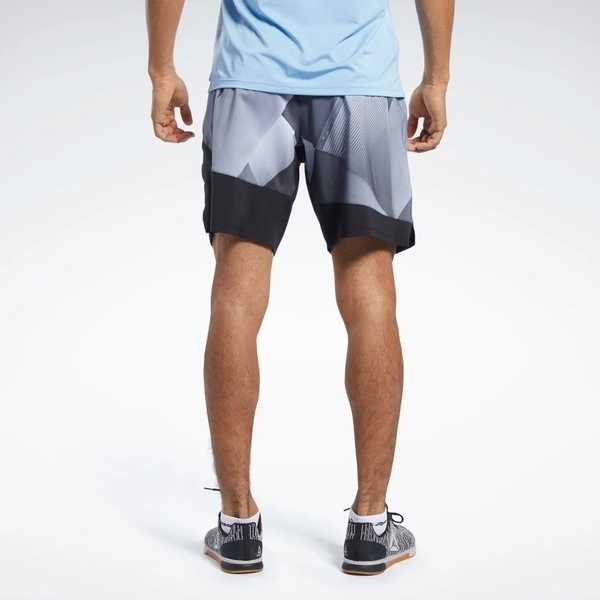 REEBOK EPIC LIGHTWEIGHT 男裝 短褲 慢跑 訓練 吸濕 排汗 黑 灰【運動世界】FK6320