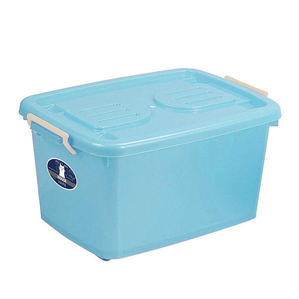 C600彩瓷滑輪整理箱(M)-3入